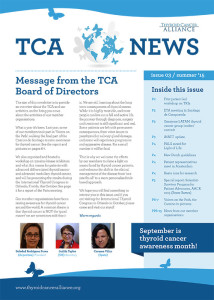 TCA Newsletter 2015